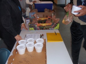 Food Distribution Table